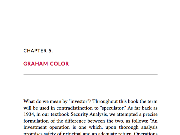 A version of the Graham Theme, with some color elements. Named for Benjamin Graham, this classic theme with some modern elements is suitable for serious nonfiction, academic nonfiction, and literary fiction.