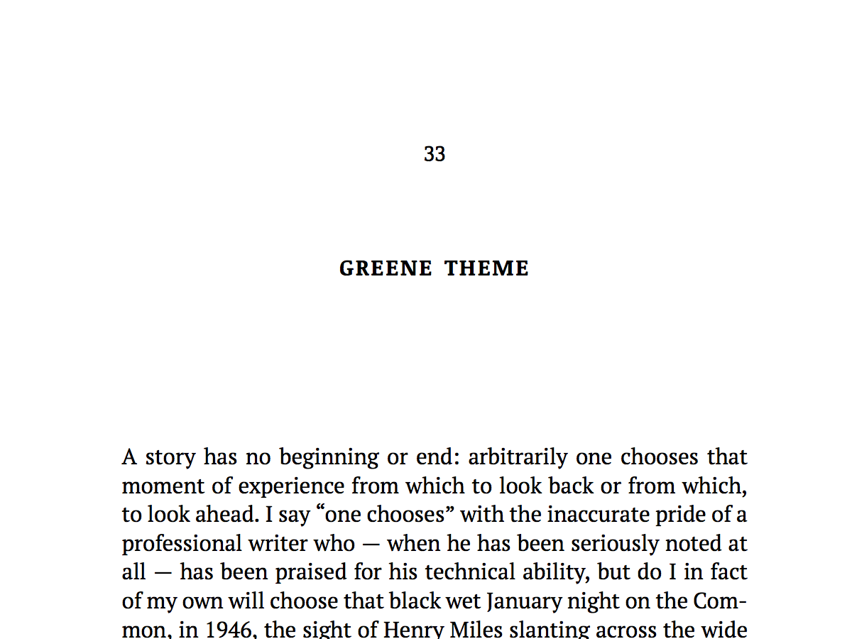 Named for Graham Greene, this theme will do well for thrillers, serious fiction, mysteries, and some non-fiction.