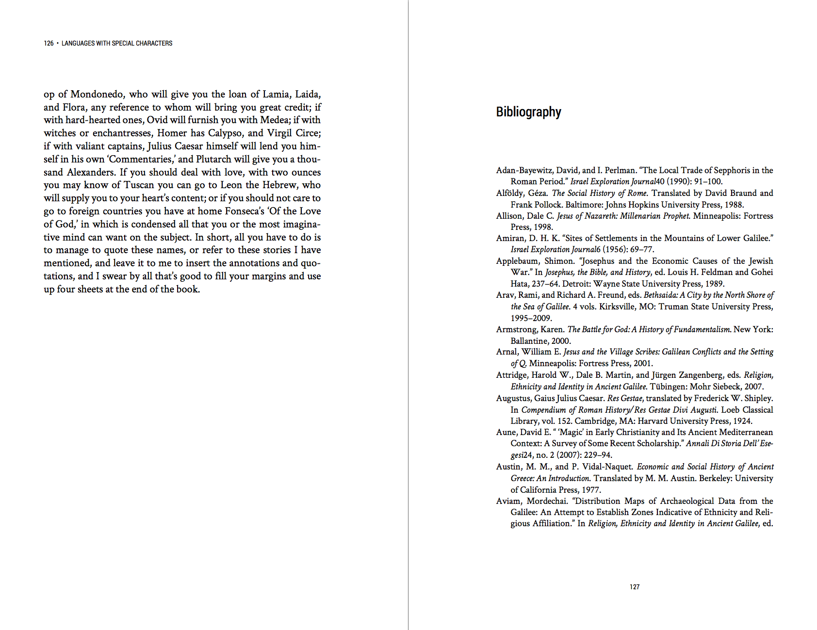 Fitzgerald Theme Bibliography