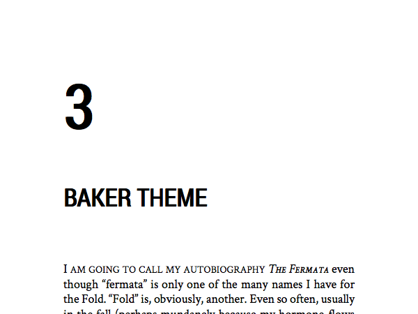 Baker Theme