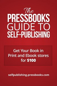 Pressbooks Guide to Self-Publishing Book Cover
