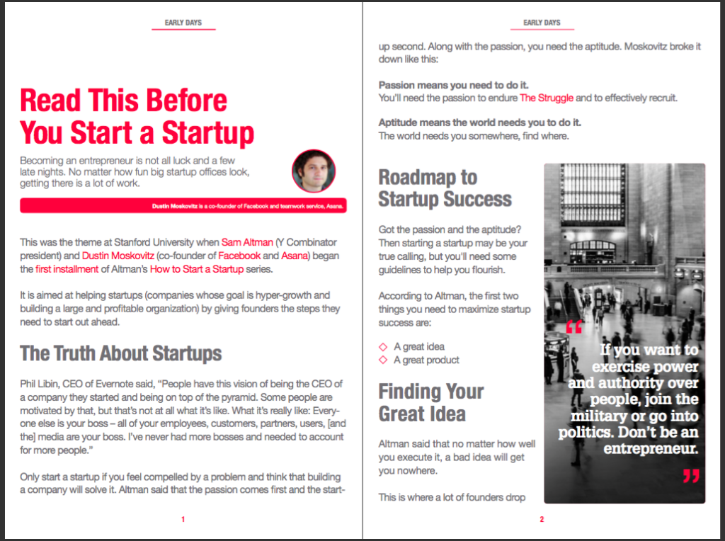 How to Start a Startup-The Book Original Interior