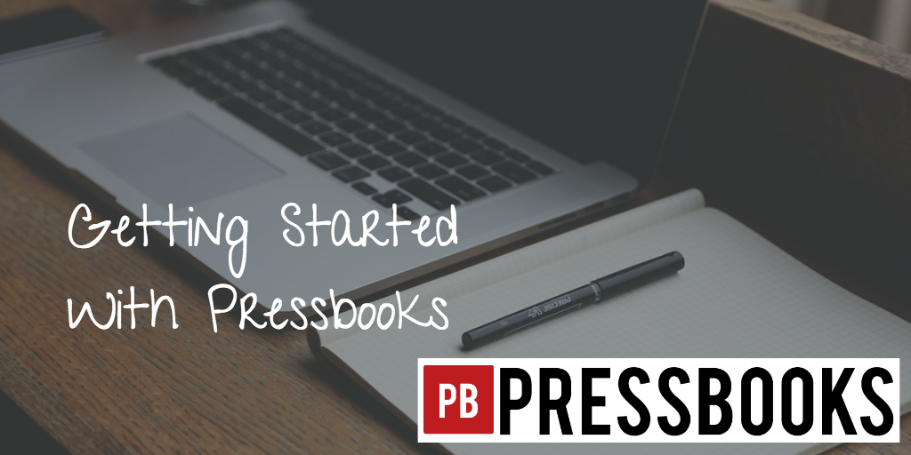 Getting Started With Pressbooks image