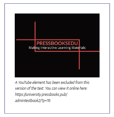 Graceful fallback for a video in the pdf