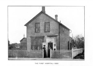first hospital, 1889