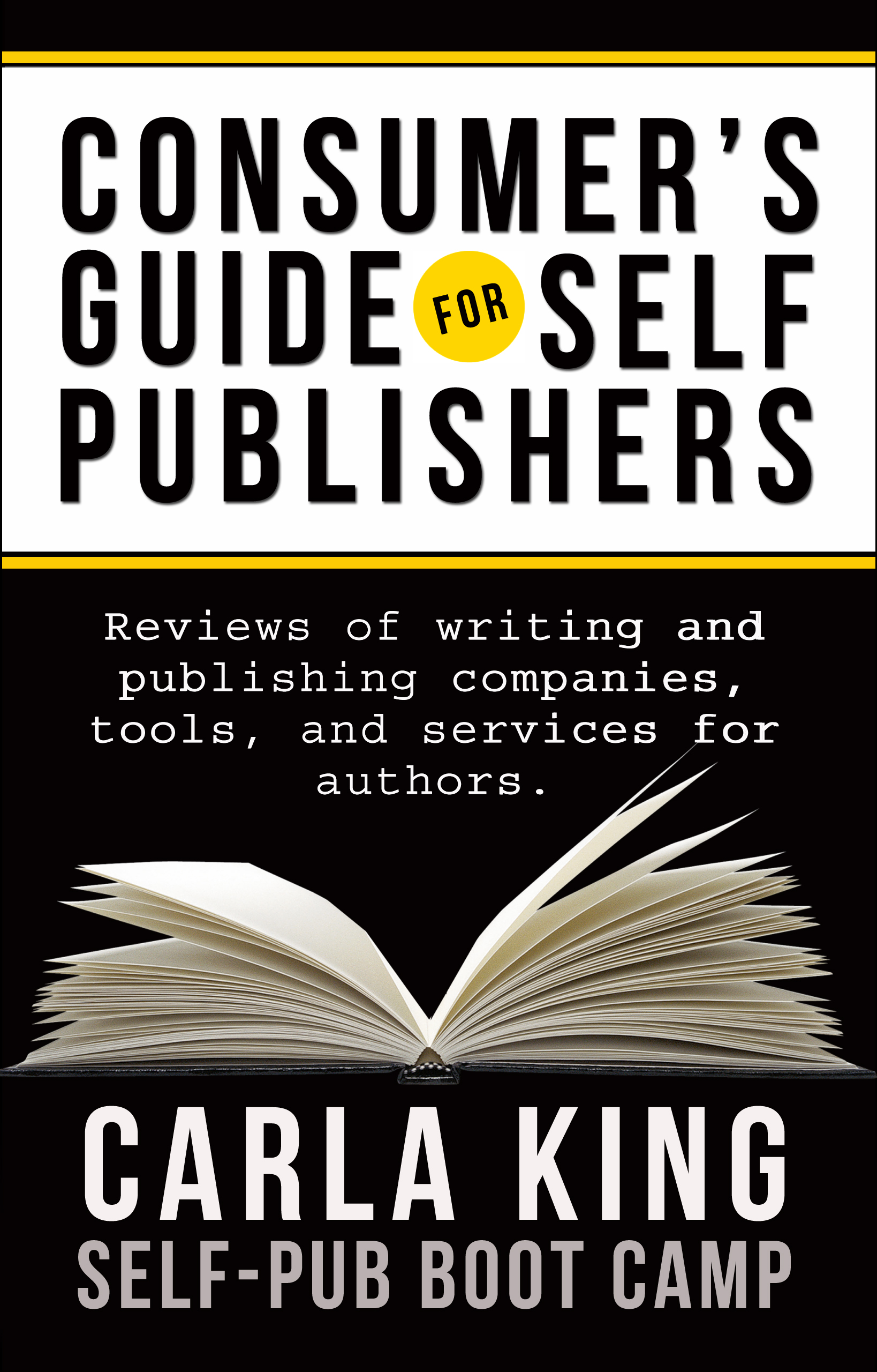 Cover image for A Consumer's Guide for Self-Publishers