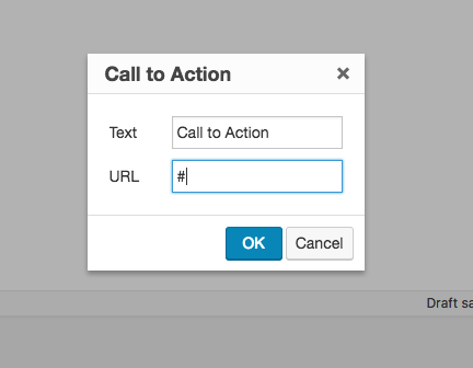 Enter a URL for your call to action