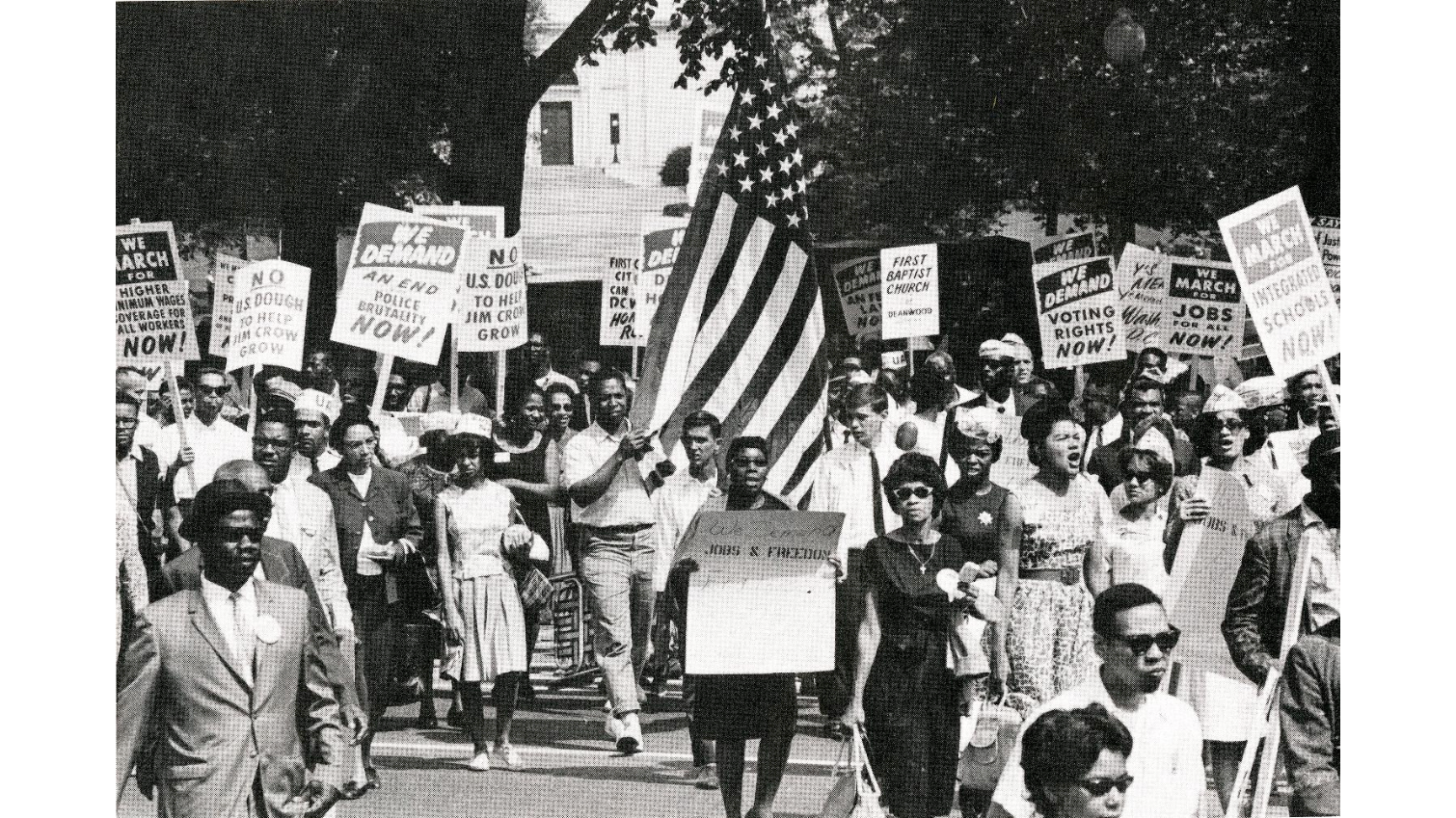Photograph of Participants in 1963 March on Washington