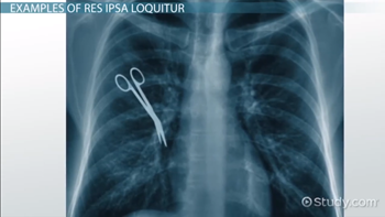 image of xray revealing surgical scissors left in patient near right lung