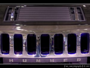 Photograph of Hummer H2 Grill