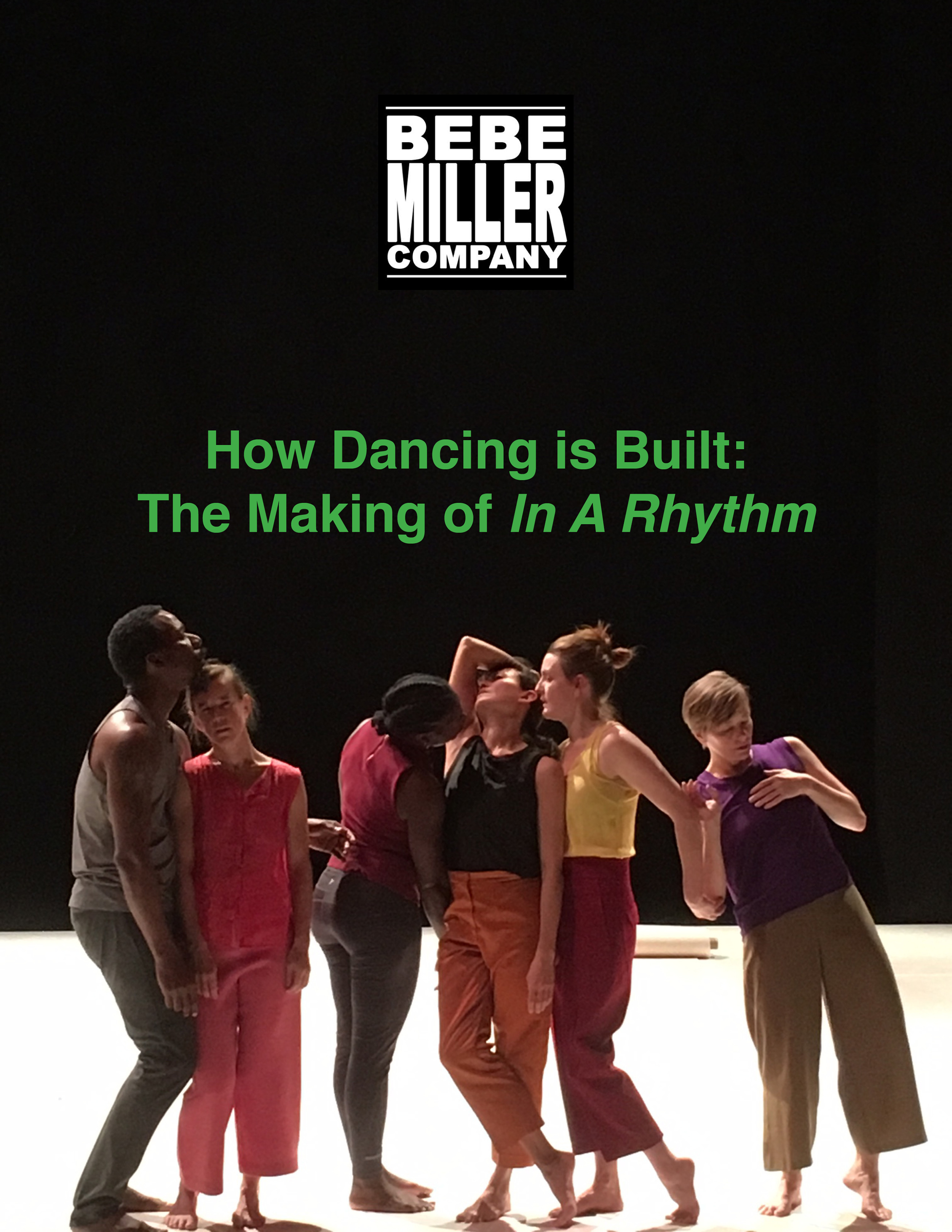 "Cover image for How Dancing is Built: The Making of ""In A Rhythm"""