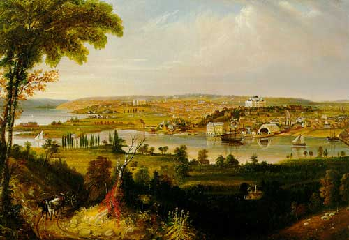George Cooke: la ciudad de Washington en 1833