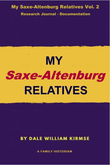 Cover image for My Saxe-Altenburg Relatives Vol. 2