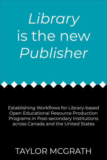 Cover image for LIBRARY is the new PUBLISHER