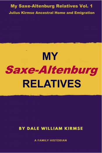 Cover image for My Saxe-Altenburg Relatives Vol. 1