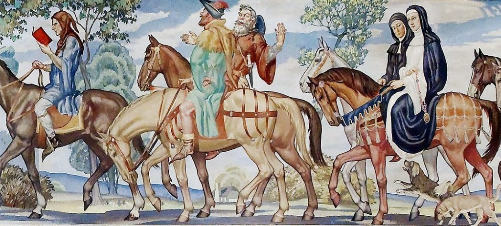 Geoffrey Chaucer The Canterbury Tales An Open Companion To Early British Literature The Canterbury Tales