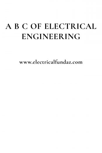 Cover image for A B C of Electrical Engineering