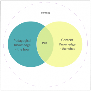 Figure 1. The PCK Model. Adapted from Wells (2017)