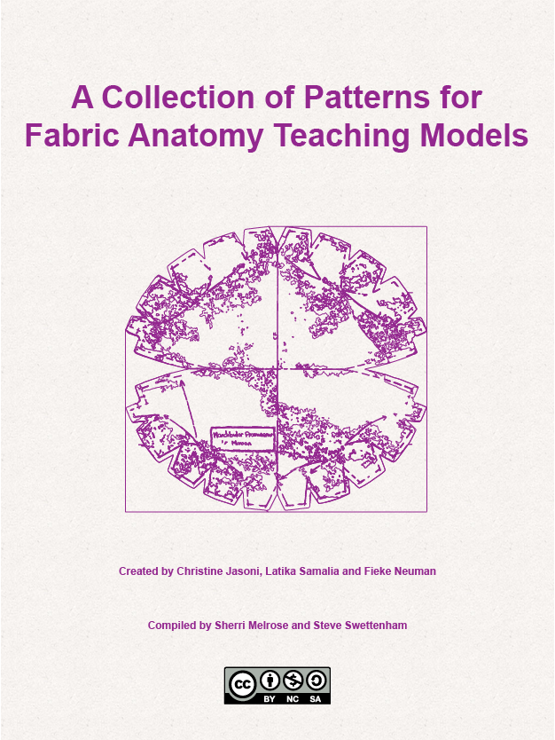 Cover image for A Collection of Patterns for Fabric Anatomy Teaching Models