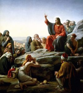 The Sermon on the Mount by Carl Bloch, 1890