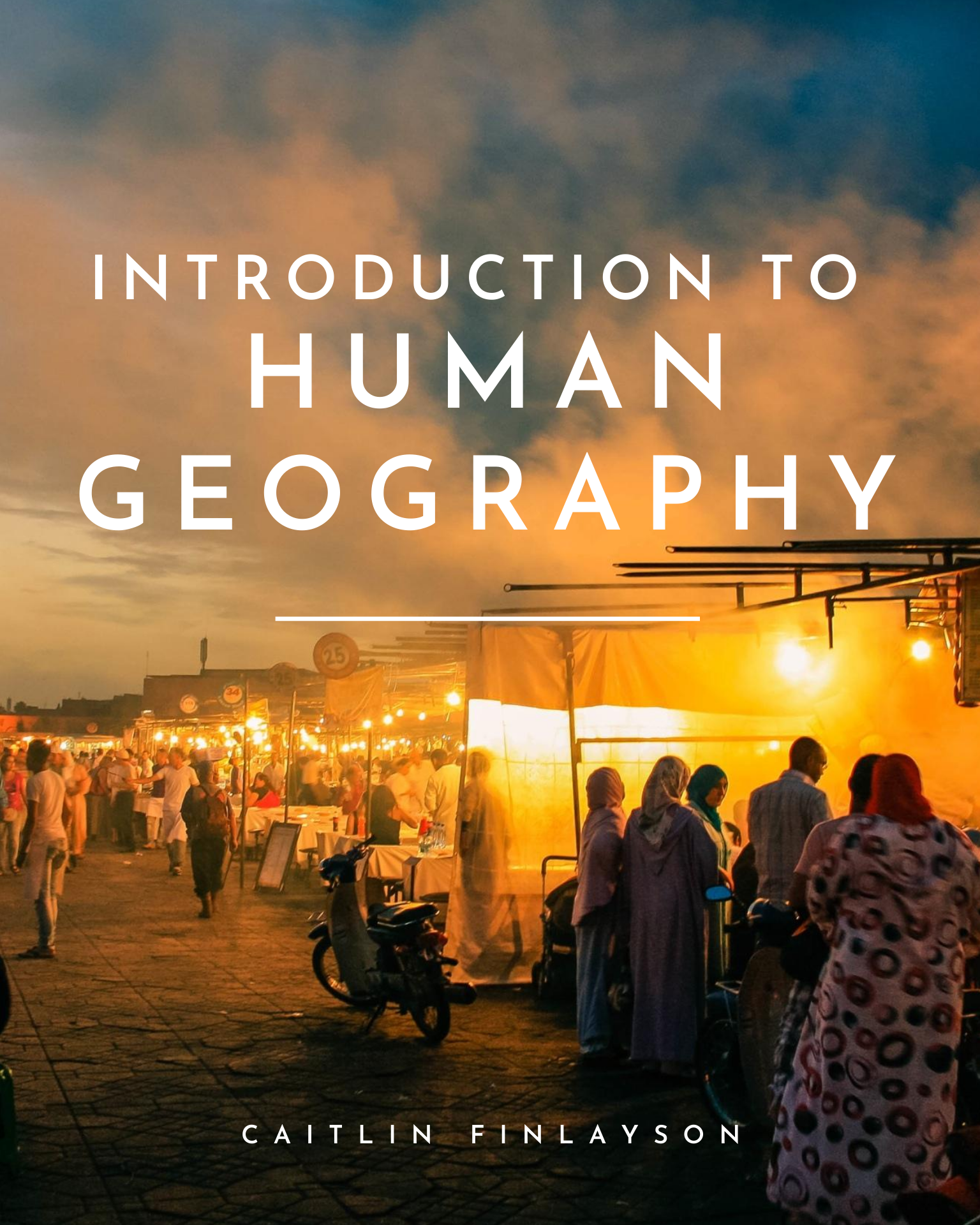 Cover image for Introduction to Human Geography