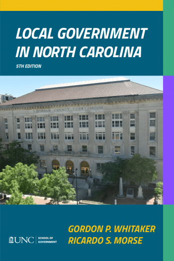 Cover image for Local Government in North Carolina