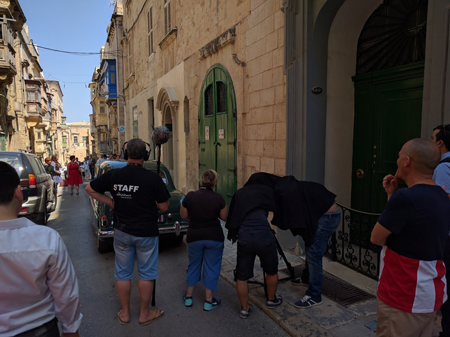 Maltese film makers make a short film celebrating the history of their village.