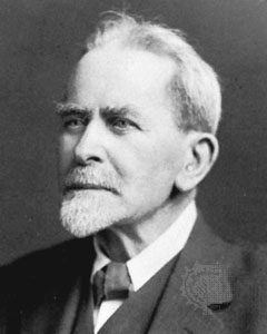 Image of Sir James Frazer, one of the founders of modern anthropology.
