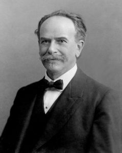 Portrait of Franz Boas, One of the Founders of American Anthropology, 1915