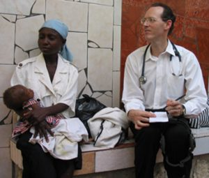 Image of Paul Farmer in Haiti