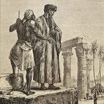 An illustration of Abu Abdullah Muhammad Ibn Battuta in Egypt