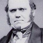 Image of Charles Darwin in 1854