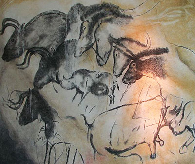Image of Chauvet Cave Painting