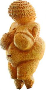 Image of the Venus of Willendorf