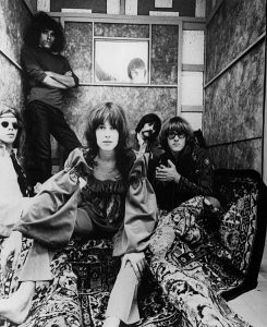 Black and white press photo of Jefferson Airplane (1967)
