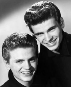 Everly Brothers headshot.