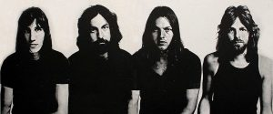 Black and white promo photo of Pink Floyd