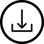 Download icon shows a downward pointing arrow