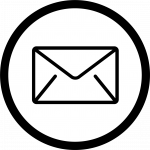 Email icon looks like an envelope