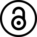 Open Access logo is an open padlock that resembles the letter a