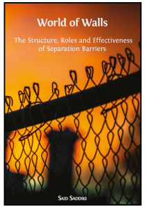 """Cover of nonfiction book, """"World of Walls: The Structure, Roles, and Effectiveness of Separation Barriers"""""""