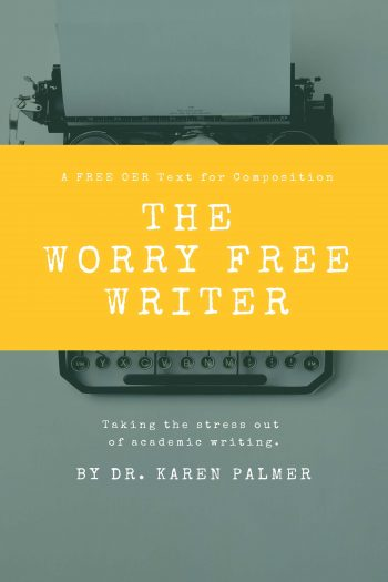 Cover image for The Worry Free Writer