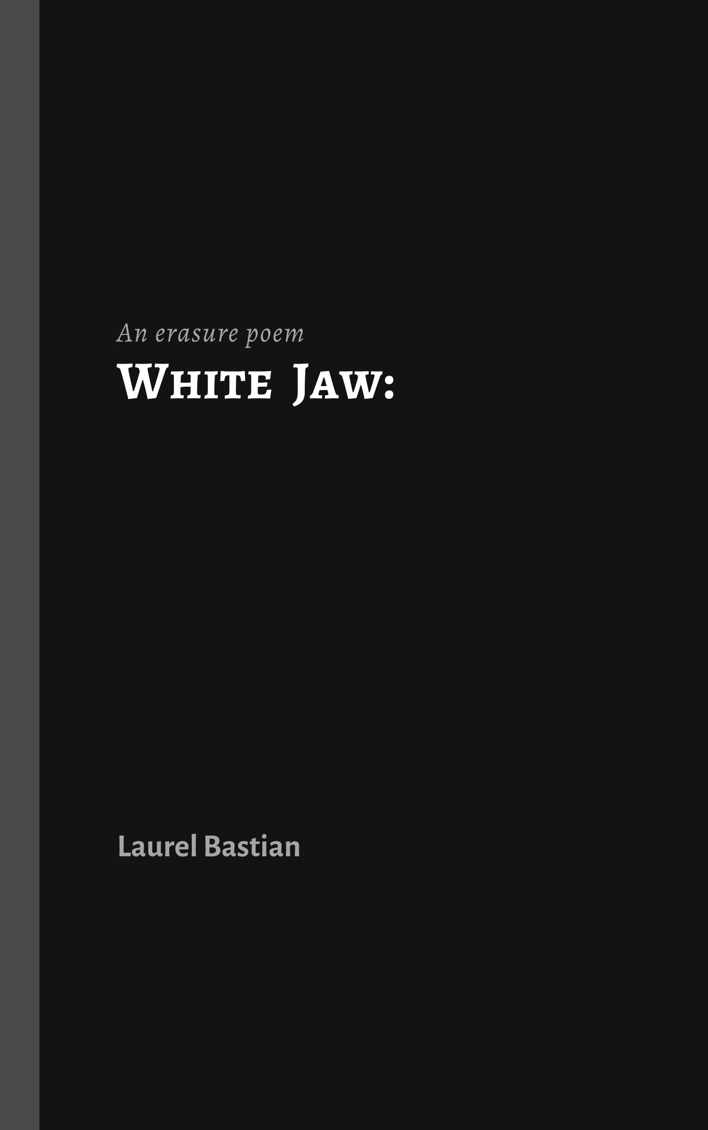 Cover image for White Jaw: