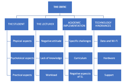 Figure 5.3: Critic: Themes and Sub-themes