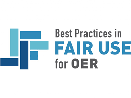 Logo for Best Practices in Fair Use for OER