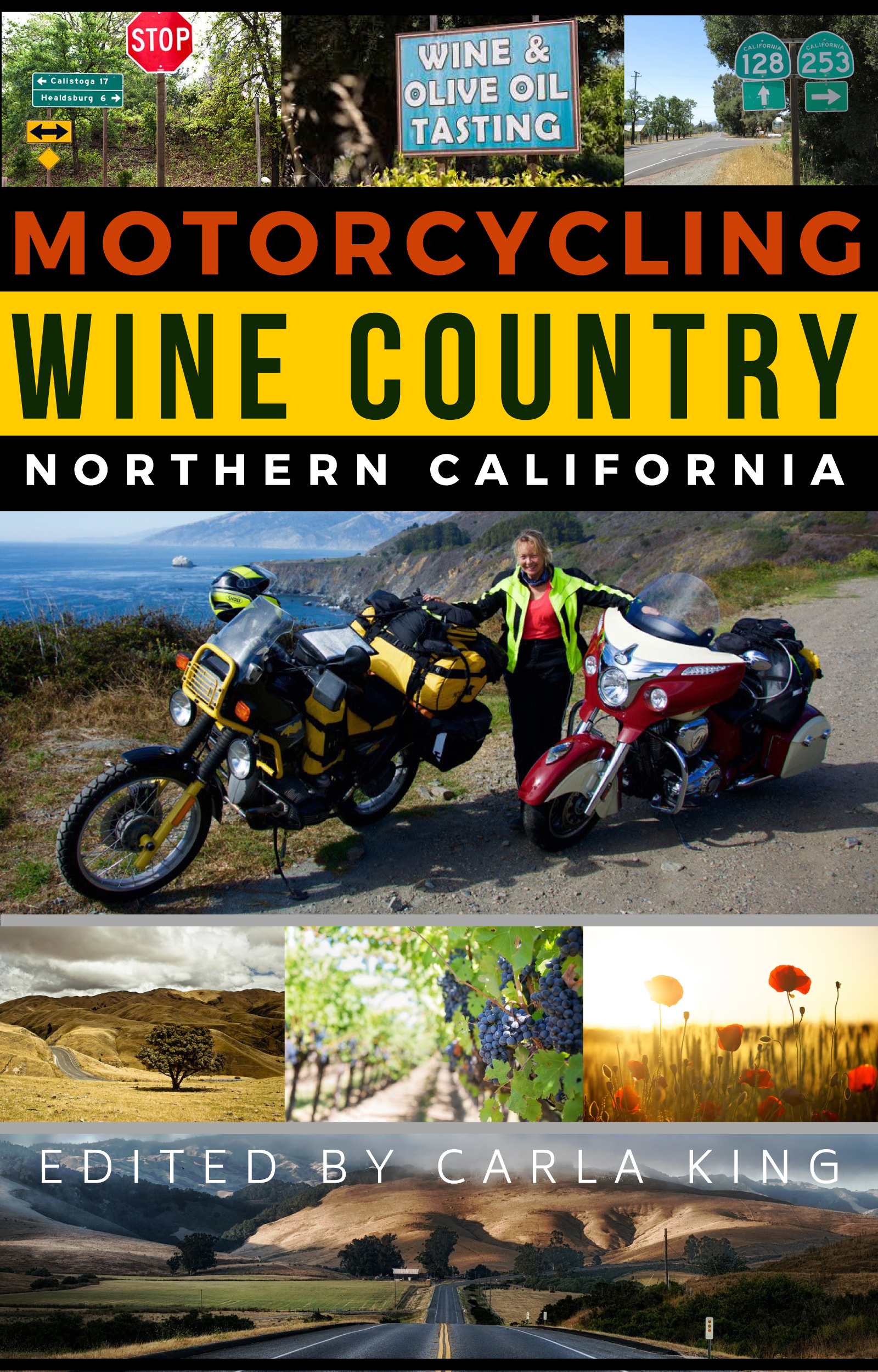 Cover image for Motorcycling Northern California Wine Country