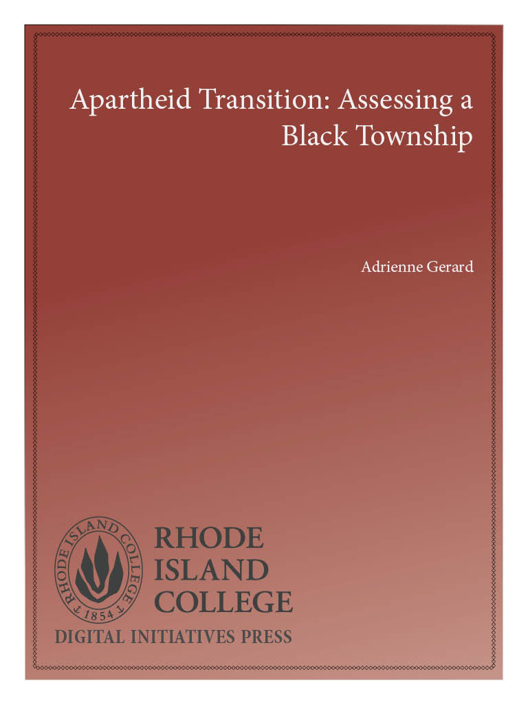 Cover image for Apartheid Transition