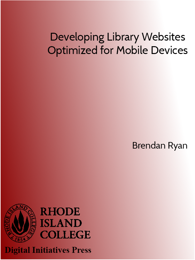 Cover image for Developing Library Websites Optimized for Mobile Devices