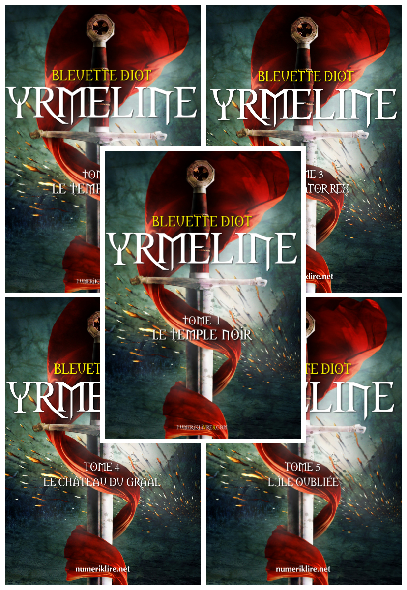 Cover image for Yrmeline, tomes 1 à 4