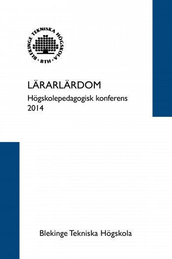 Cover image for Lärarlärdom, 2014